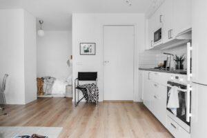 överblick ny lägenhet